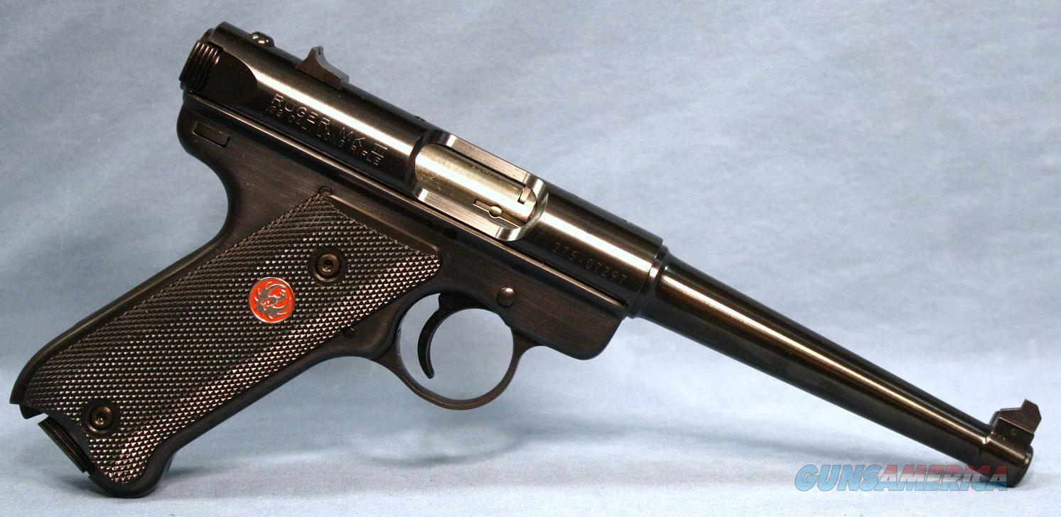 Ruger Mark III Semi-Automatic Pistol, .22 Long Rifle  Guns > Pistols > Ruger Semi-Auto Pistols > Mark I & II Family