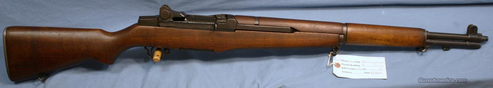 U.S. Army M1 Garand Semi-Automatic Rifle 30.06  Guns > Rifles > Military Misc. Rifles US > M1 Garand