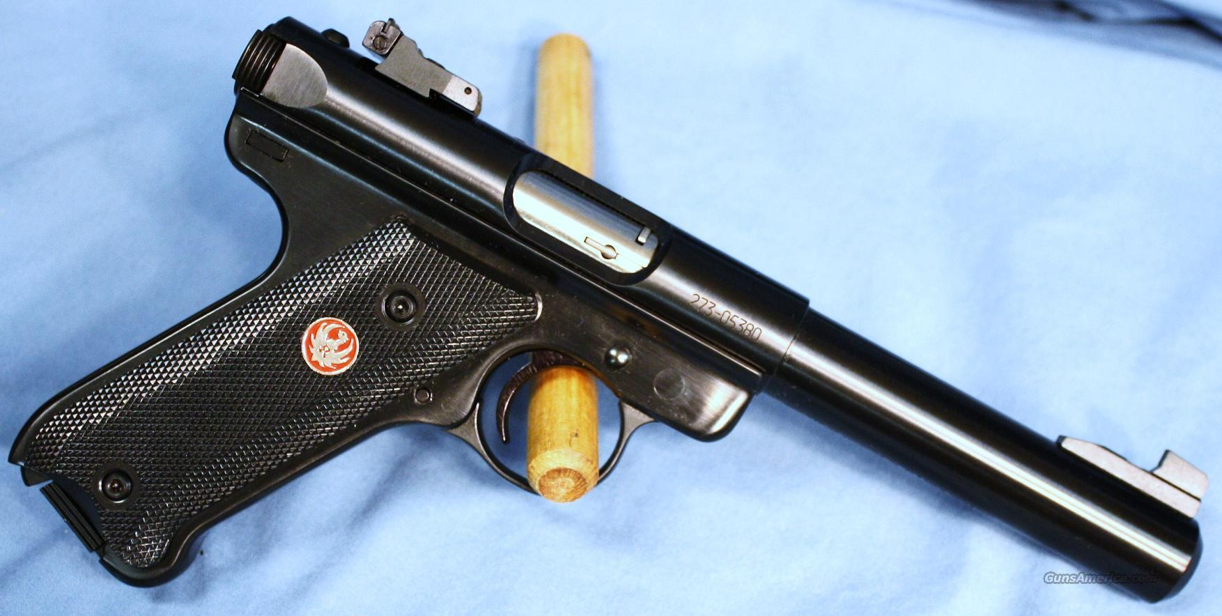 Ruger Mark III Target Semi-Automatic Pistol .22LR  Guns > Pistols > Ruger Semi-Auto Pistols > Mark I & II Family