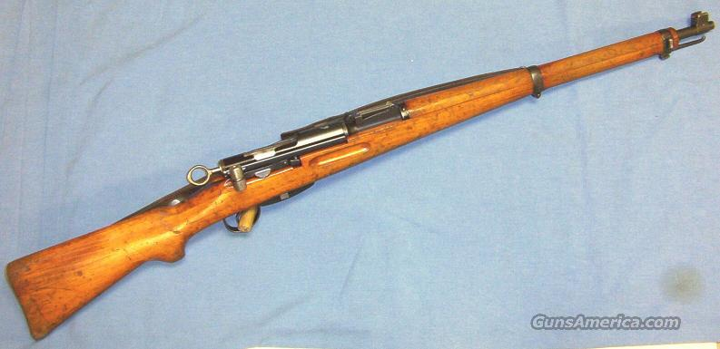 Schmidt-Rubin K-31 Straight-Pull Bolt Action Rifle 7.5x55 Swiss  Guns > Rifles > Military Misc. Rifles Non-US > Shmidt Rubin