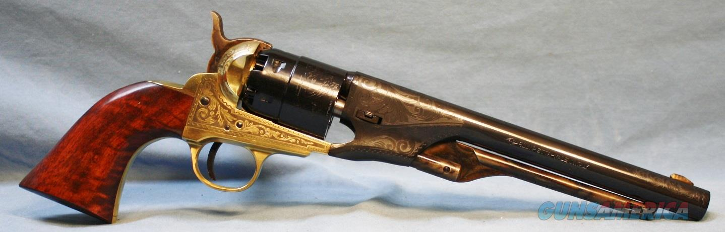 Traditions Engraved 1860 Army Single Action Percussion Revolver, made by Pietta, 44 caliber Free Shipping!   Guns > Pistols > Traditions Pistols