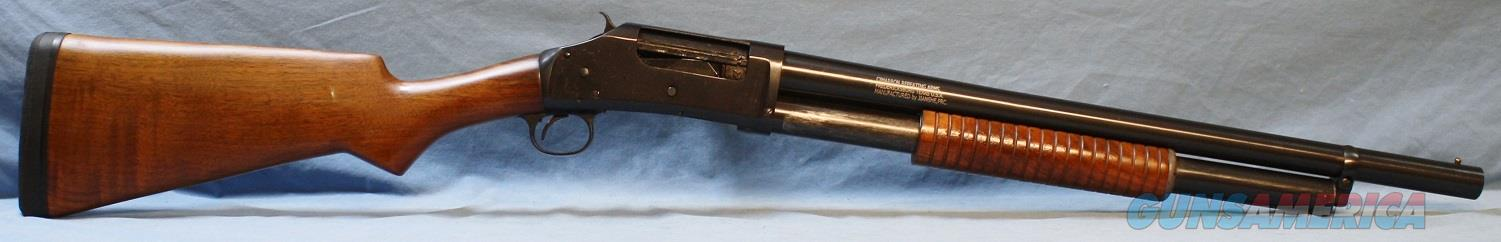 Cimarron Model 1897 Winchester Reproduction Hammer Pump Shotgun, 12 gauge  Guns > Shotguns > Cimmaron Shotguns