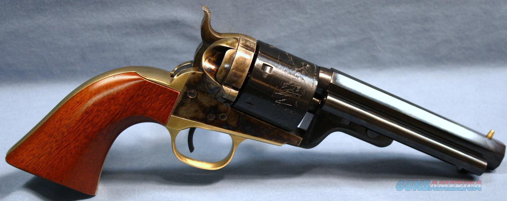 Uberti Model 1851 Navy Richards Mason Conversion Single Action Revolver 38 Special  Guns > Pistols > Uberti Pistols > Ctg.