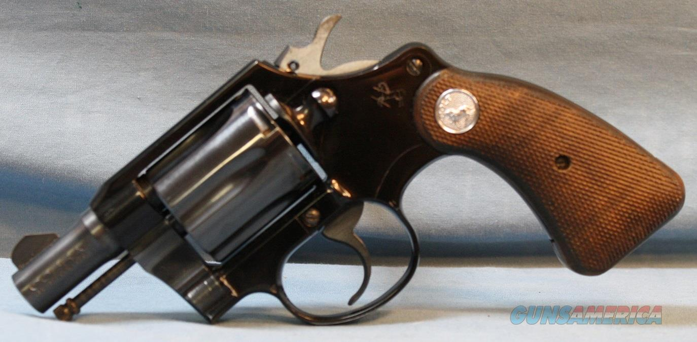 Colt Cobra Double Action Revolver, made in 1953, 38 Special Free Shipping!  Guns > Pistols > Colt Double Action Revolvers- Modern