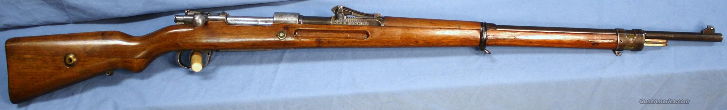Mauser GEW 98 WWI German Army Bolt Action Rifle 8mm Made in 1915  Guns > Rifles > Mauser Rifles > German