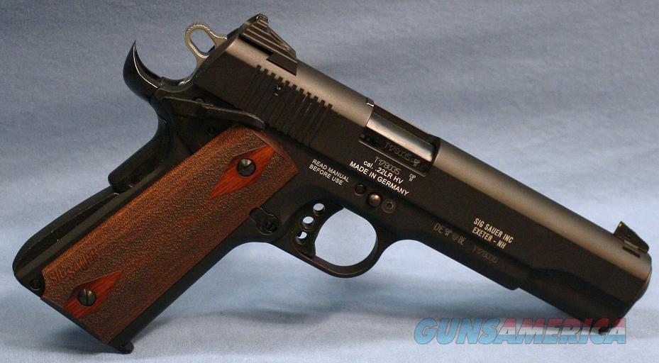 Sig 1911 Single Action Semi-Automatic Pistol .22 Long Rifle  Guns > Pistols > Sig - Sauer/Sigarms Pistols > 1911