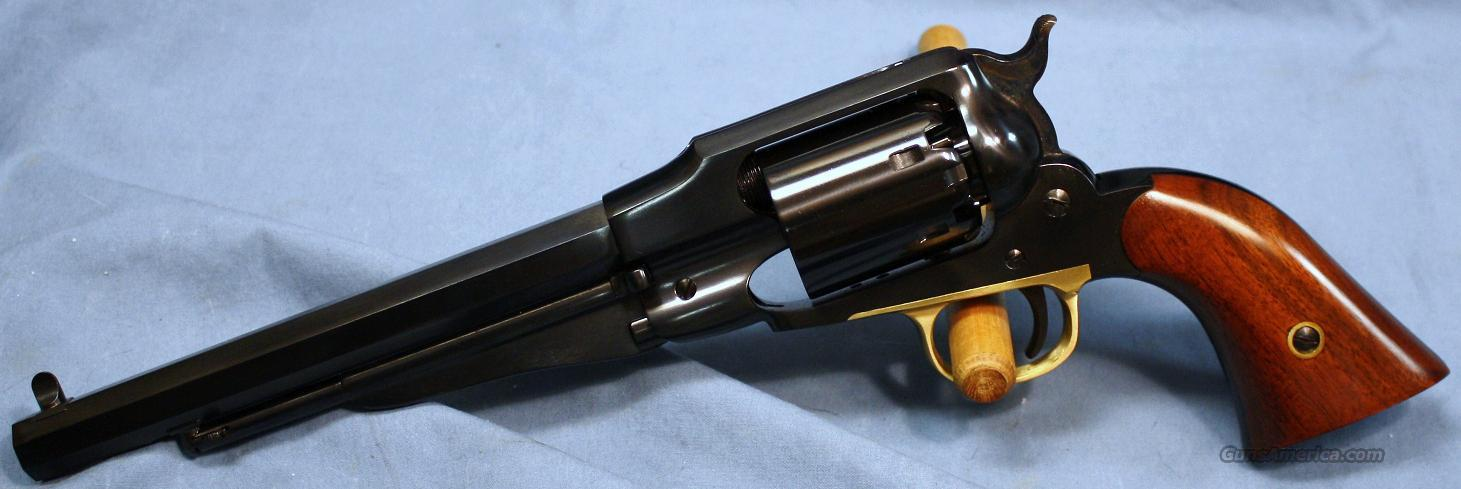 Uberti 1858 Remington New Army Single Action Blackpowder Percussion Revolver .44 Caliber  Guns > Pistols > Uberti Pistols > Percussion