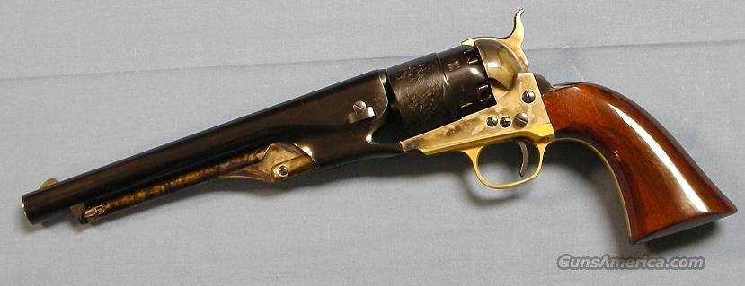Cimarron 1860 Army 44 Caliber Single Action Percussion Revolver  Guns > Pistols > Cimmaron Pistols