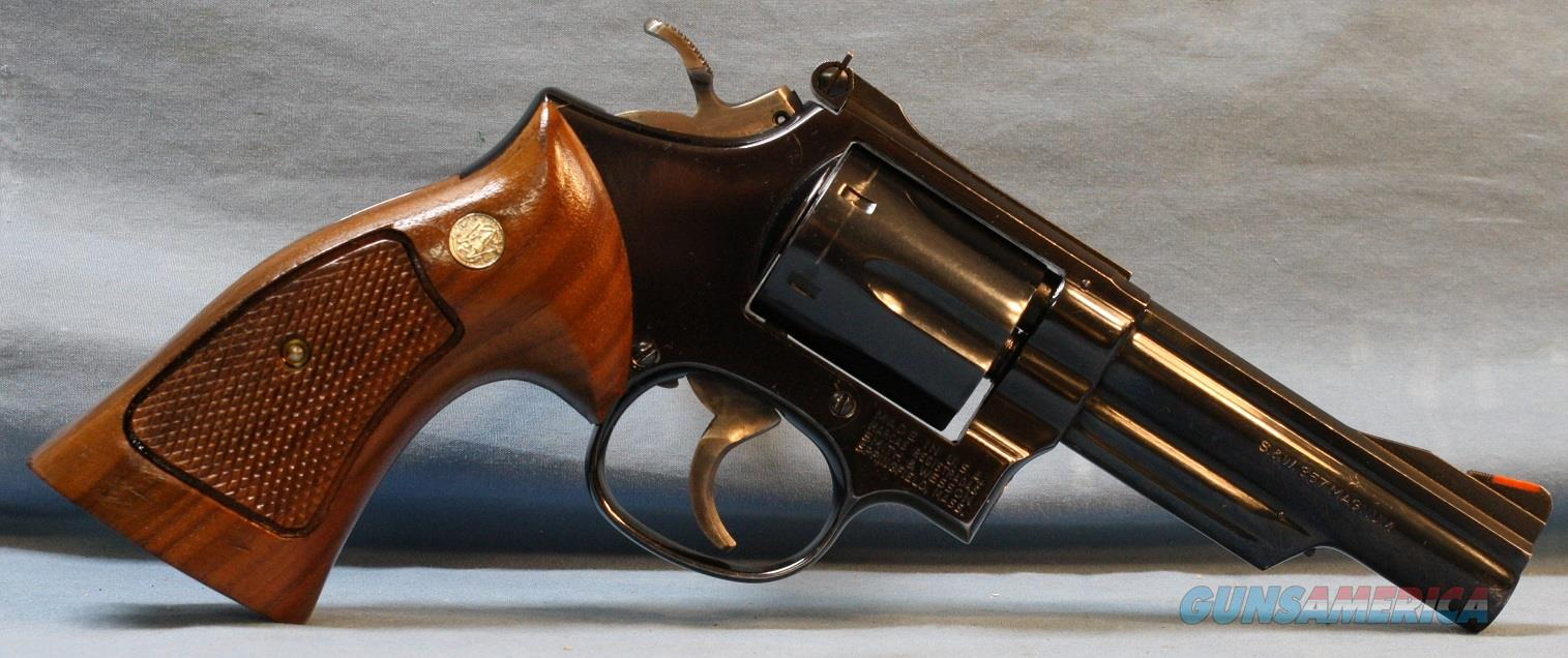 Smith & Wesson model 19-4 Double Action Revolver, made in 1980, 357 Mag   Guns > Pistols > Smith & Wesson Revolvers > Med. Frame ( K/L )