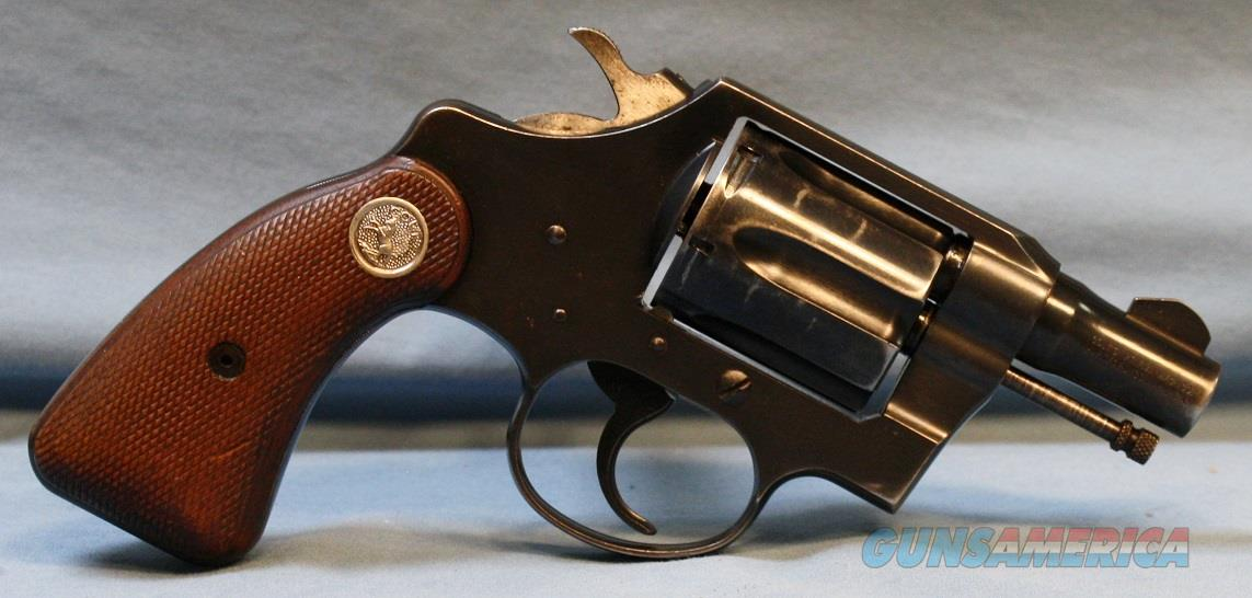 Colt Detective Special Double Action Revolver, 2nd issue, .38 Special   Guns > Pistols > Colt Double Action Revolvers- Modern