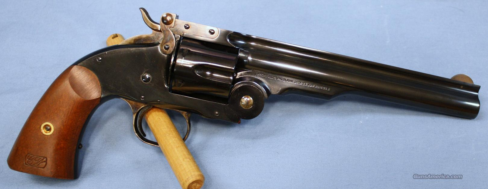 Uberti 1875 Schofield Break-Top Single Action Revolver 45 Colt  Guns > Pistols > Uberti Pistols > Ctg.