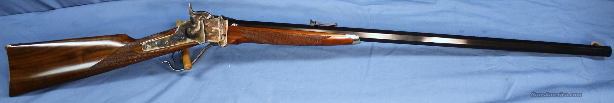 Cimarron Pedersoli 1874 Sharps Billy Dixon Single Shot Rifle 45-70 Govt  Guns > Rifles > Cimmaron Rifles > Single Shot