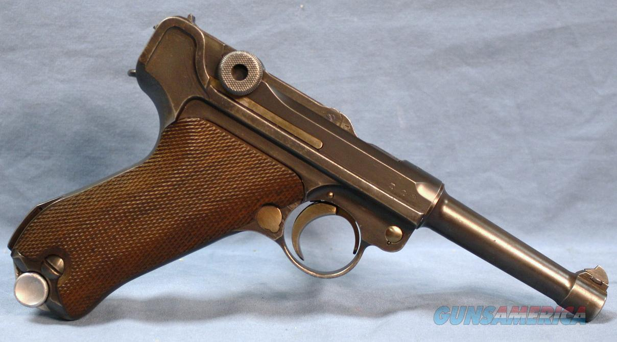 Luger WWII 1936 German Army S/42 made in 1936 in 9mm Luger  Guns > Pistols > Luger Pistols