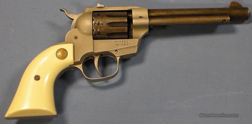 High Standard Double Nine W-101 Double Action Revolver .22LR  Guns > Pistols > High Standard Pistols