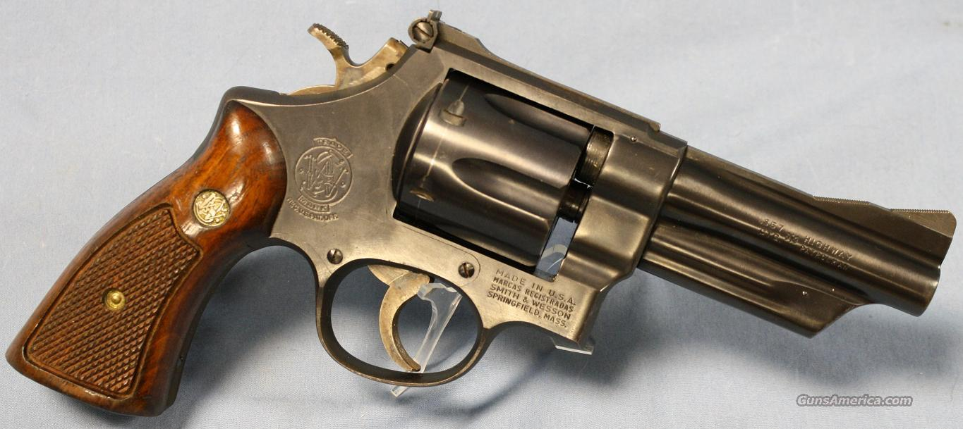 Smith & Wesson 28-2 Highway Patrolman Double Action Revolver .357 Magnum  Guns > Pistols > Smith & Wesson Revolvers > Full Frame Revolver