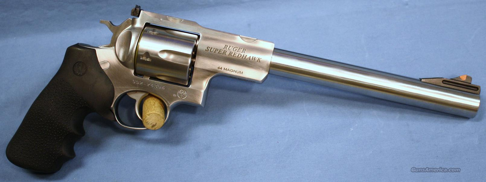 Ruger Super Redhawk Double Action Revolver 44 M For Sale