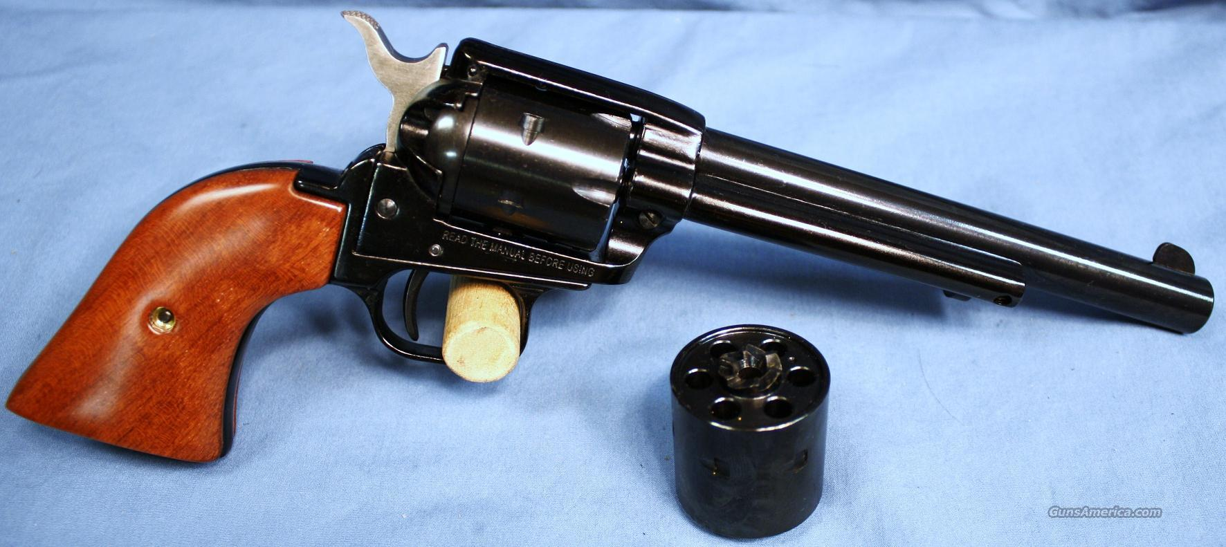 Heritage Rough Rider Combo Single Action Revolver .22LR and .22 Magnum  Guns > Pistols > H Misc Pistols