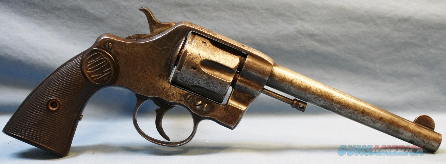 Colt Model 1894 Double Action Revolver, made in 1896, 41 Colt    Guns > Pistols > Colt Double Action Revolvers- Pre-1945