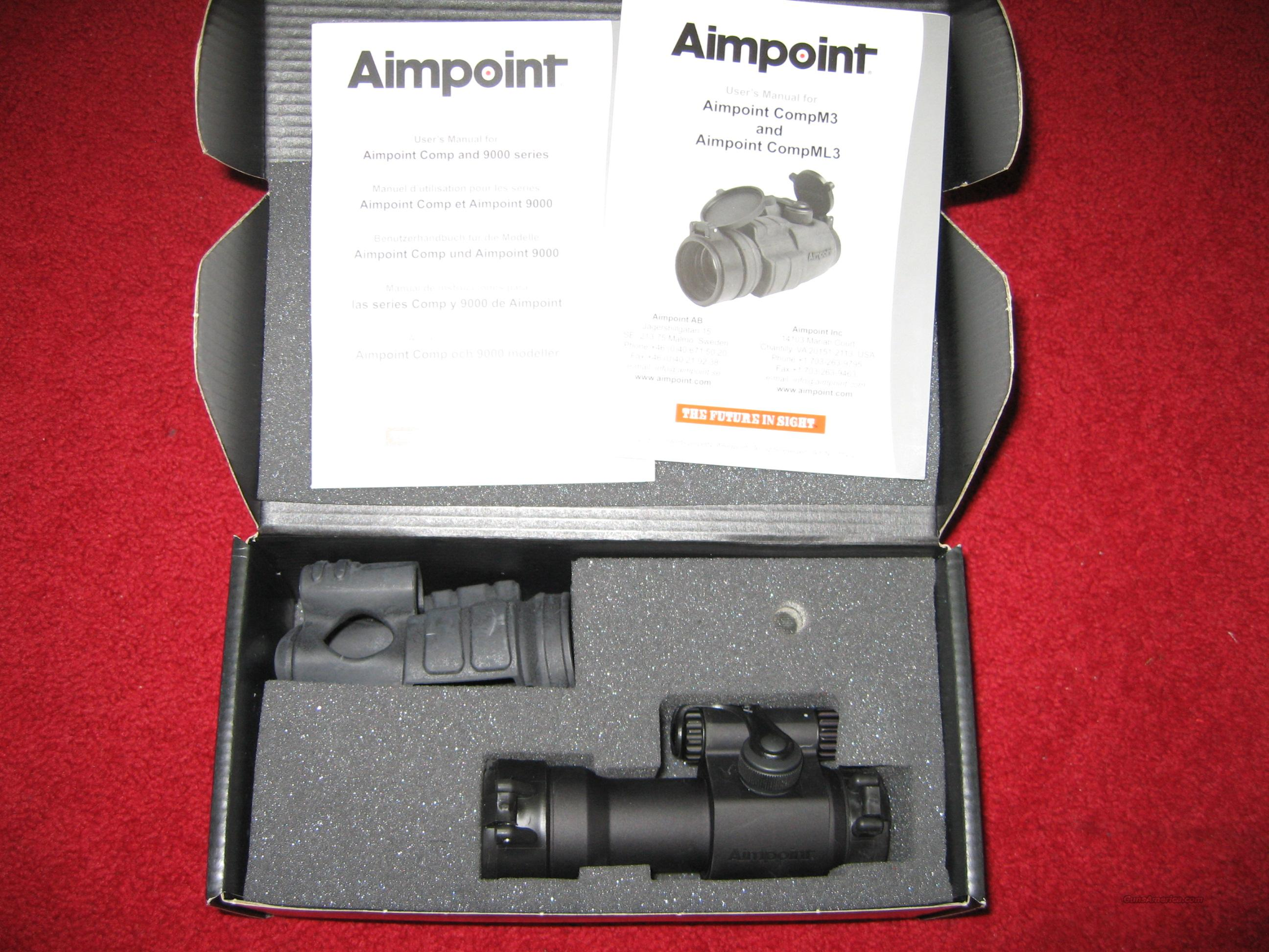 Aimpoint CompM3   Non-Guns > Scopes/Mounts/Rings & Optics > Tactical Scopes > Red Dot