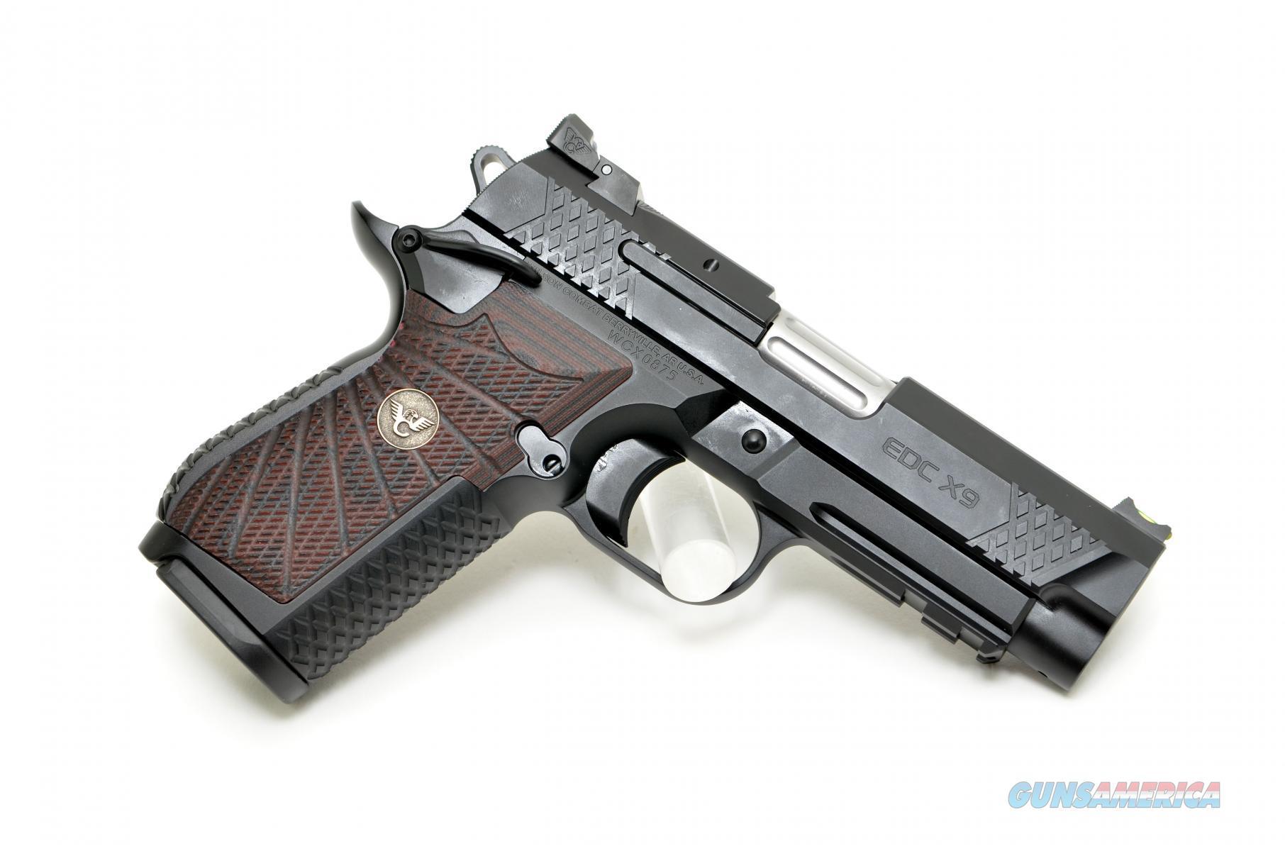 WILSON COMBAT EDC X9 - CPR W/ Lightrail - 9MM  Guns > Pistols > Wilson Combat Pistols