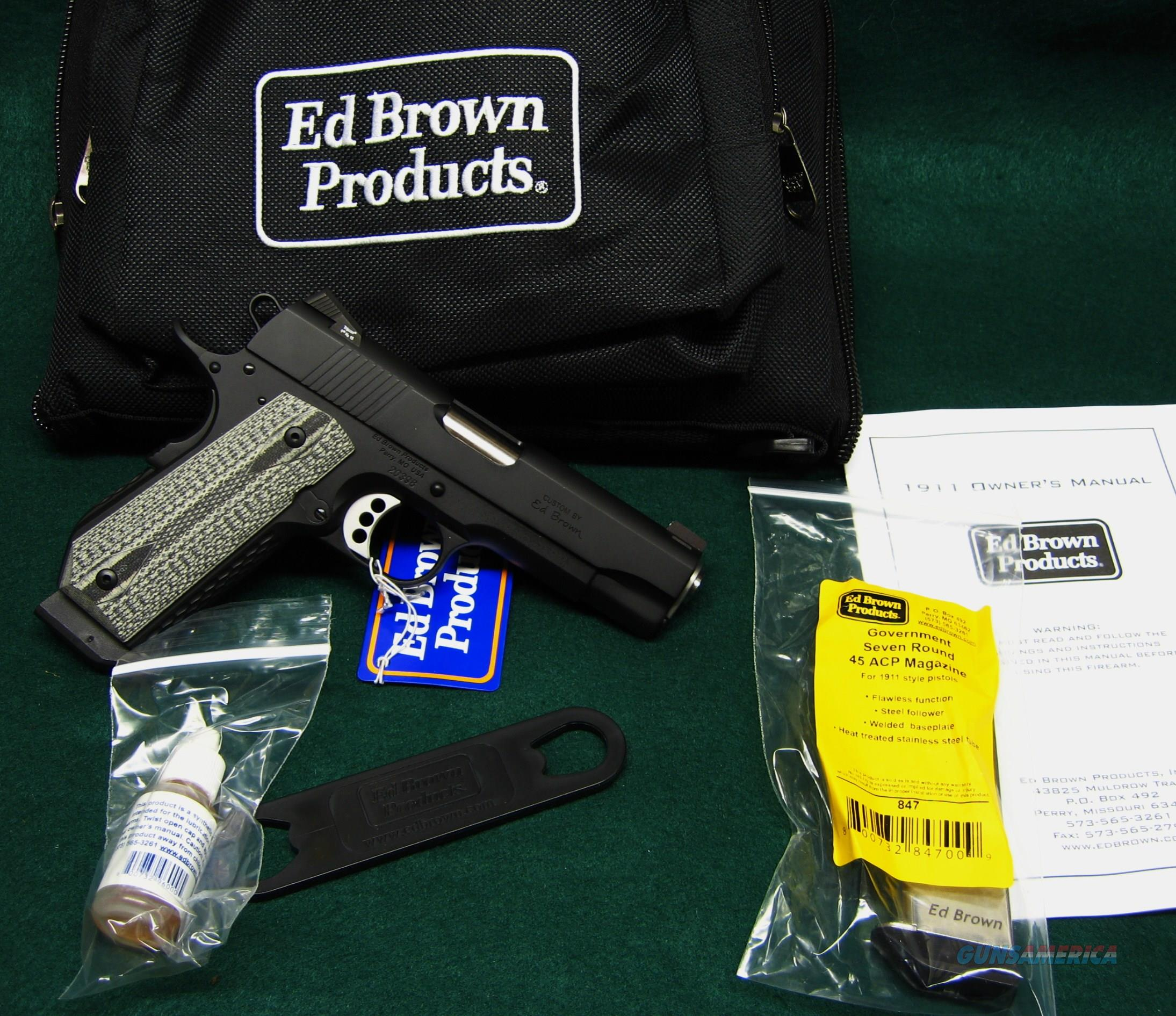 ED BROWN ALPHA CARRY - .45ACP - BOBTAIL FRAME   Guns > Pistols > Ed Brown Pistols