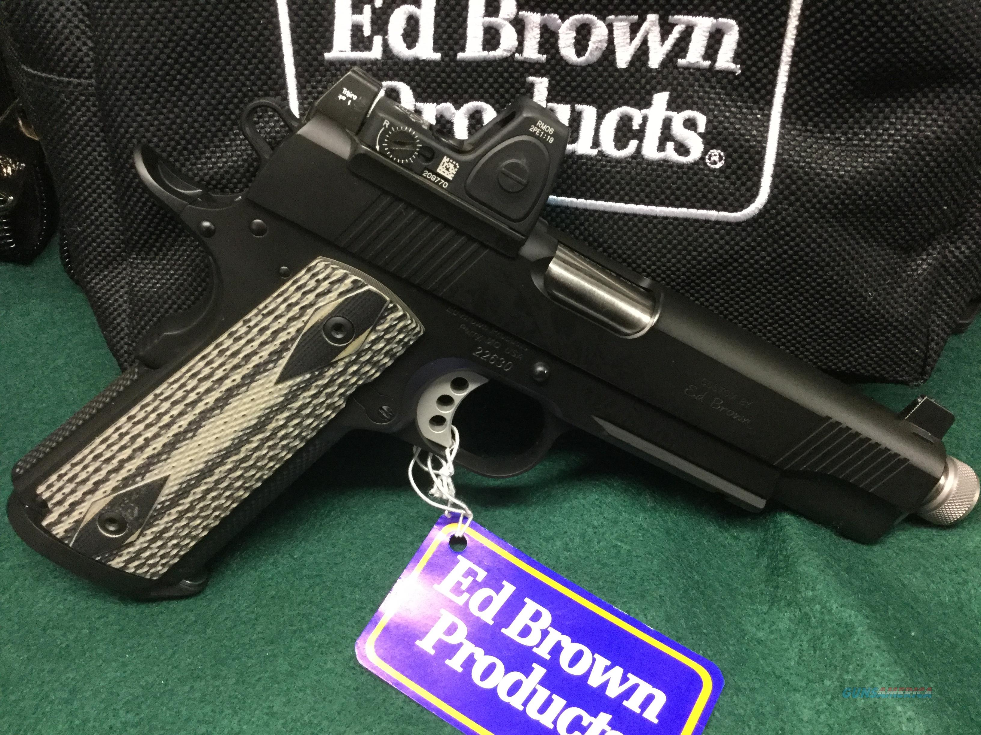 ED BROWN SPECIAL FORCES SR .45ACP - TRIJICON RMR - TRIJICON TALL IRON NIGHT SIGHTS  Guns > Pistols > Ed Brown Pistols