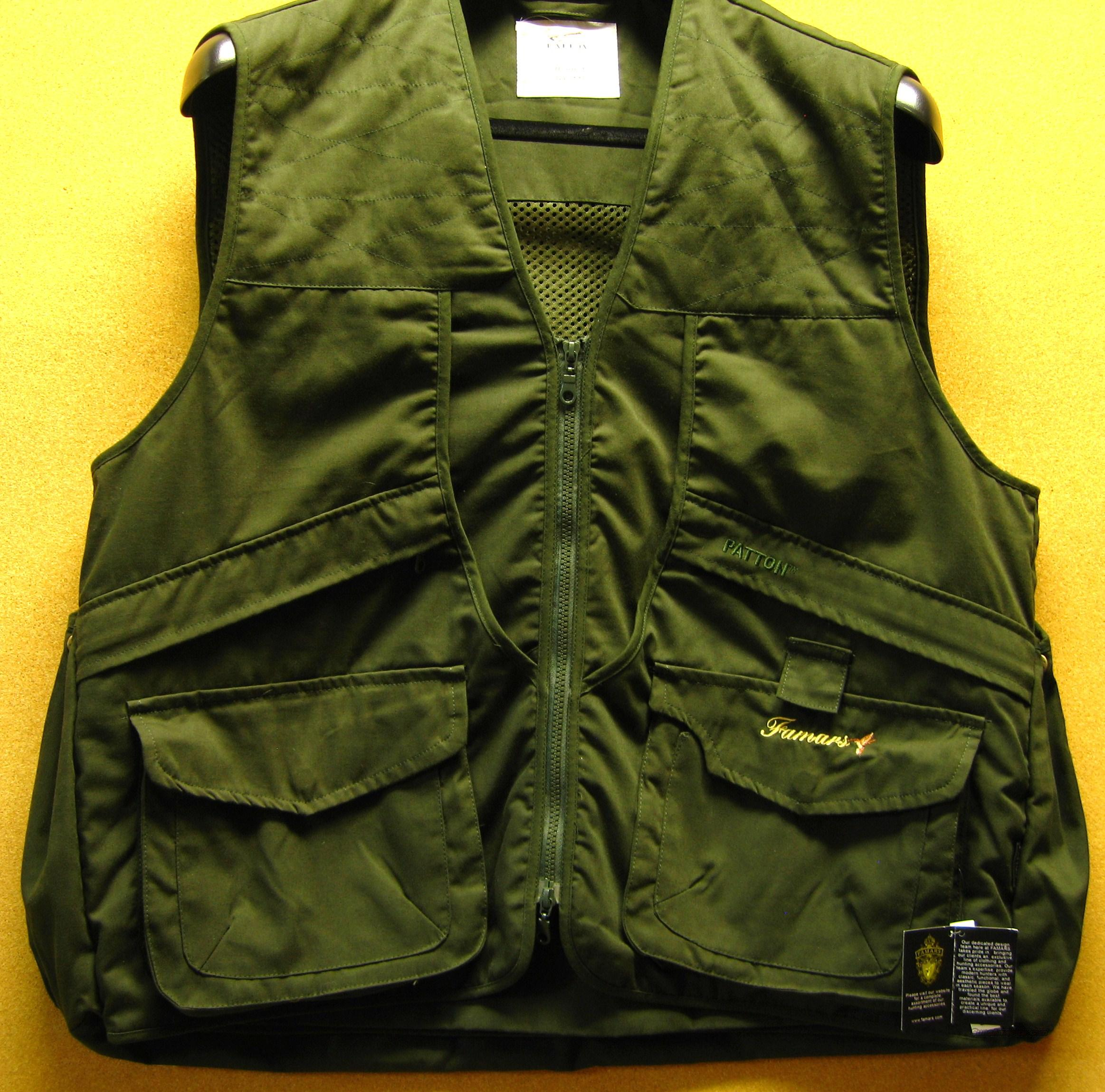 FAMARS HUNTING VEST - XXL  Non-Guns > Hunting Clothing and Equipment > Clothing > Vests