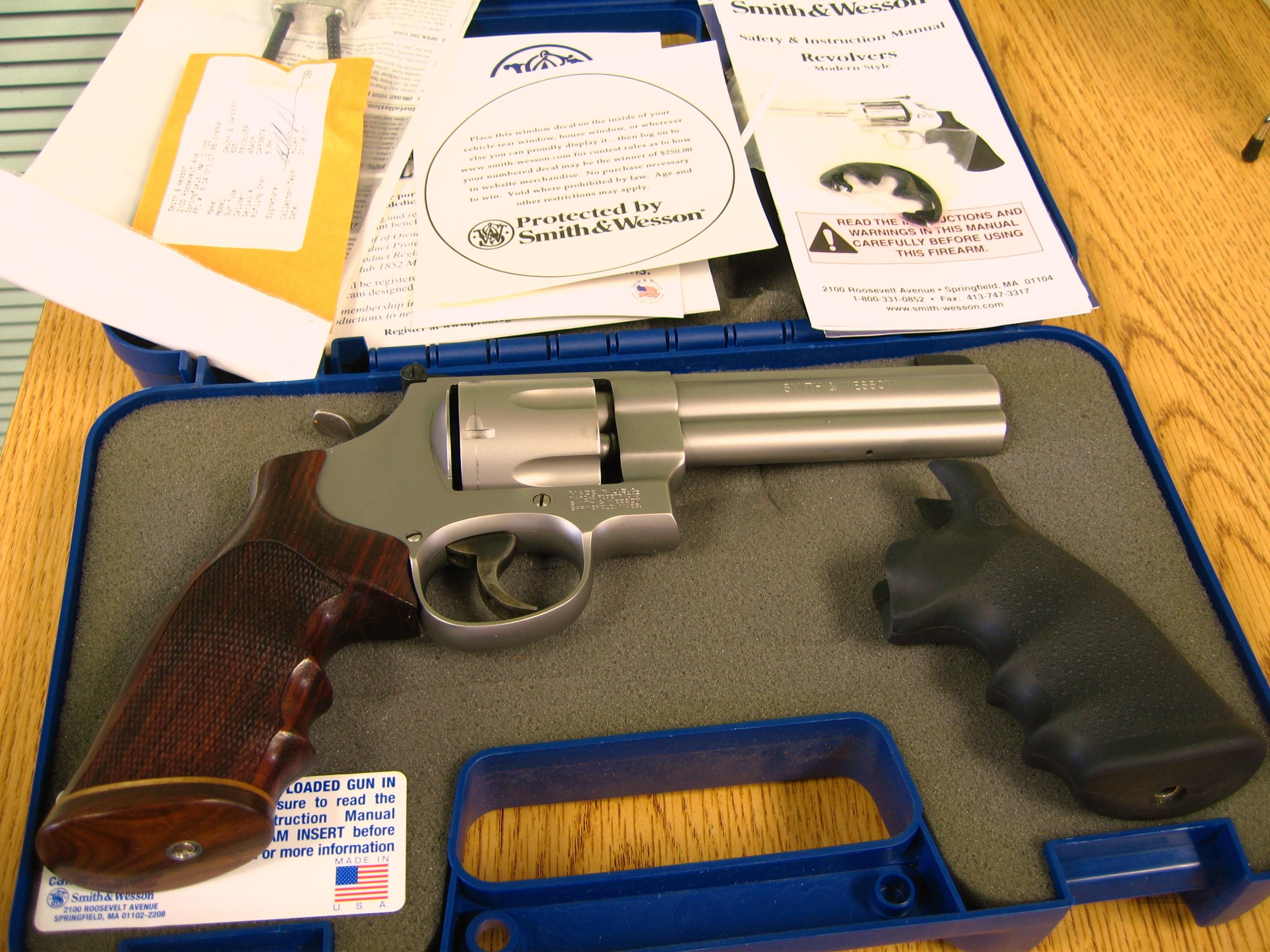 SMITH & WESSON 625-8 W/CUSTOM ROSEWOOD GRIPS  Guns > Pistols > Smith & Wesson Revolvers > Full Frame Revolver