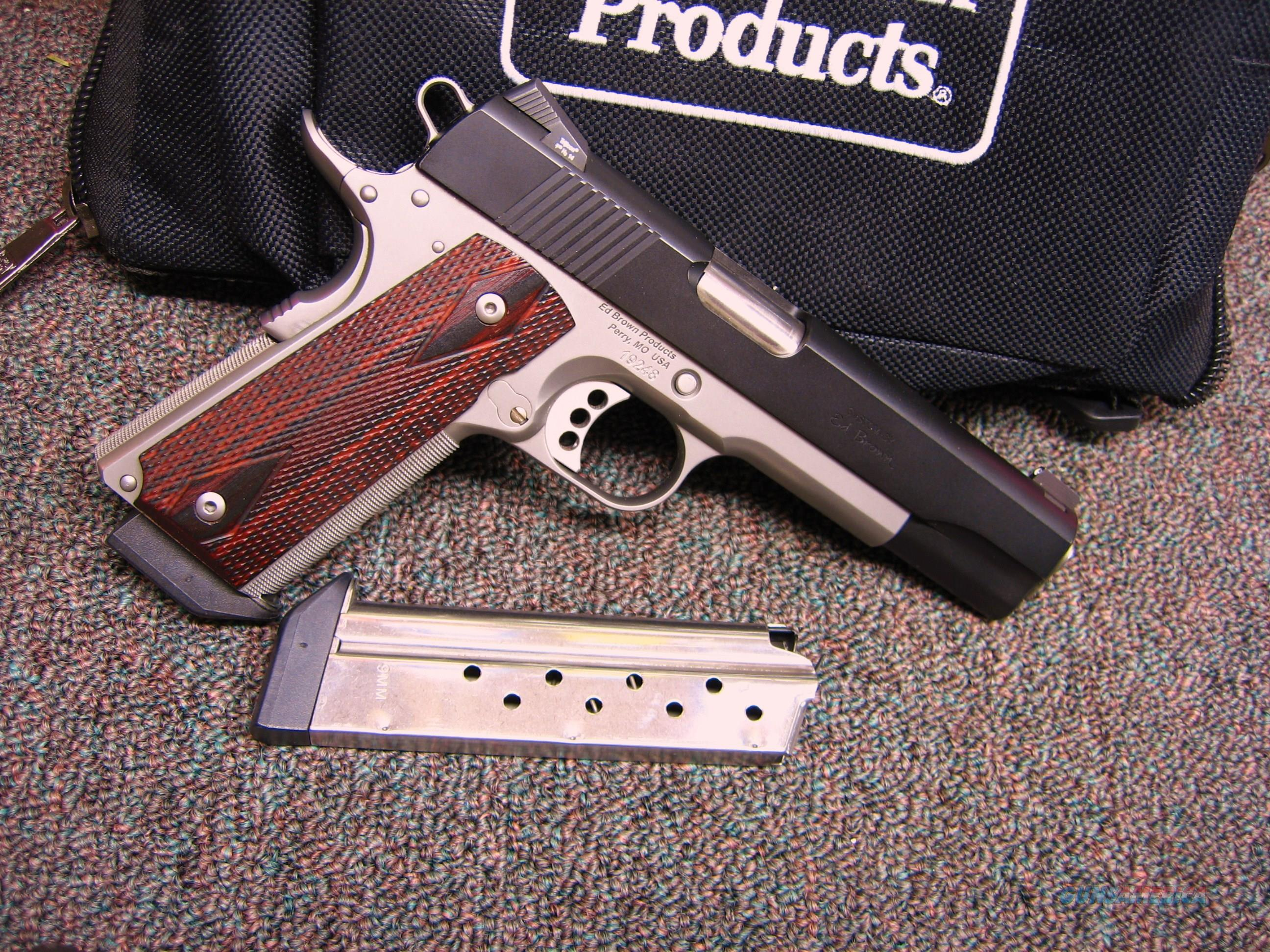 ED BROWN EXECUTIVE ELITE - 9MM - TWO TONE - SPECIAL EDITION  Guns > Pistols > Ed Brown Pistols