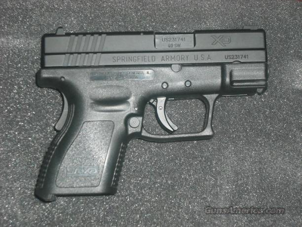 XD 40 Sub Compact w/ Full Package  Guns > Pistols > Springfield Armory Pistols > XD (eXtreme Duty)