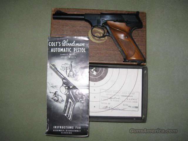 Colt Woodsman, 4.5 inch Barrel with Box  Guns > Pistols > Colt Automatic Pistols (22 Cal.)