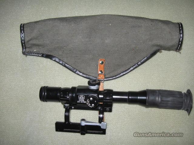 ZRAK M76 4X Scope and Mount  Non-Guns > Scopes/Mounts/Rings & Optics > Rifle Scopes > Fixed Focal Length