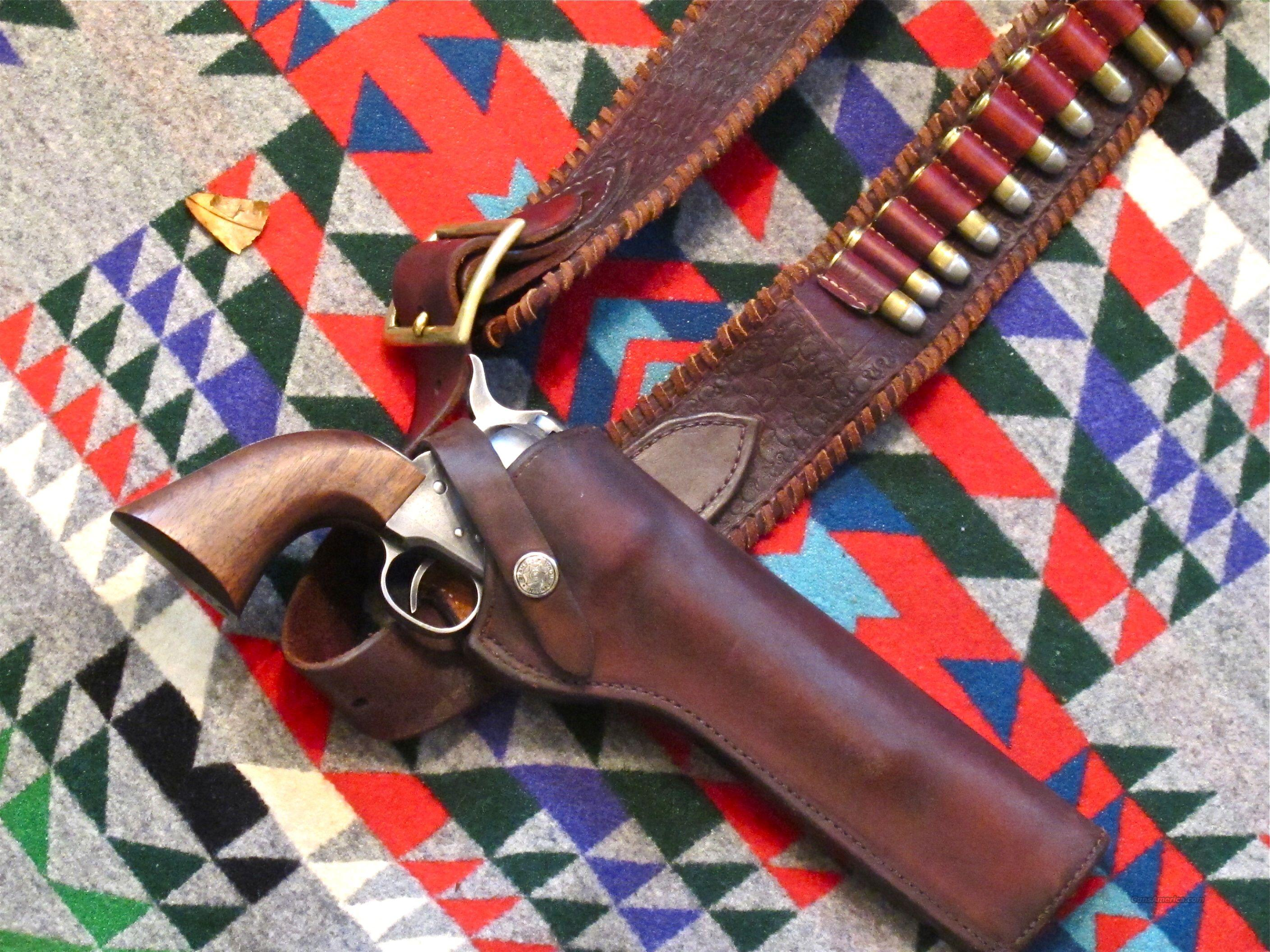 USFA Gunslinger 44-40 frontier six shooter 7 1/2 Barrel, with Vintage Rig  Guns > Pistols > United States Patent Firearms Revolvers/Pistols
