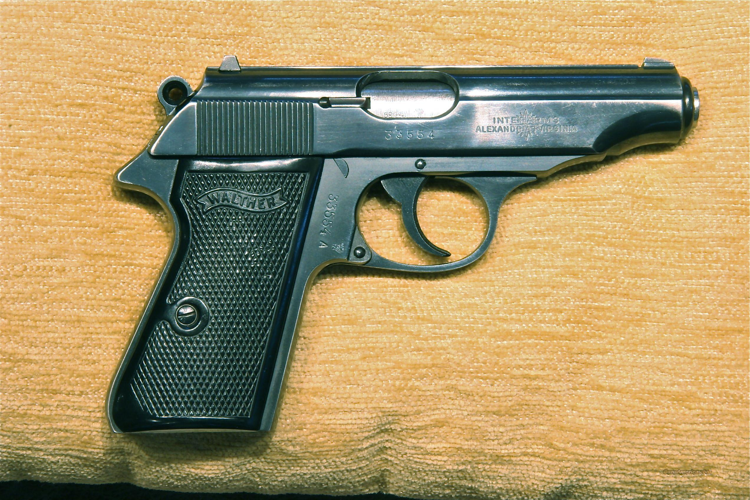 Walther PP .380 West German Manufacture 1969 includes holster and 4 magazines  Guns > Pistols > Walther Pistols > Post WWII > PP Series