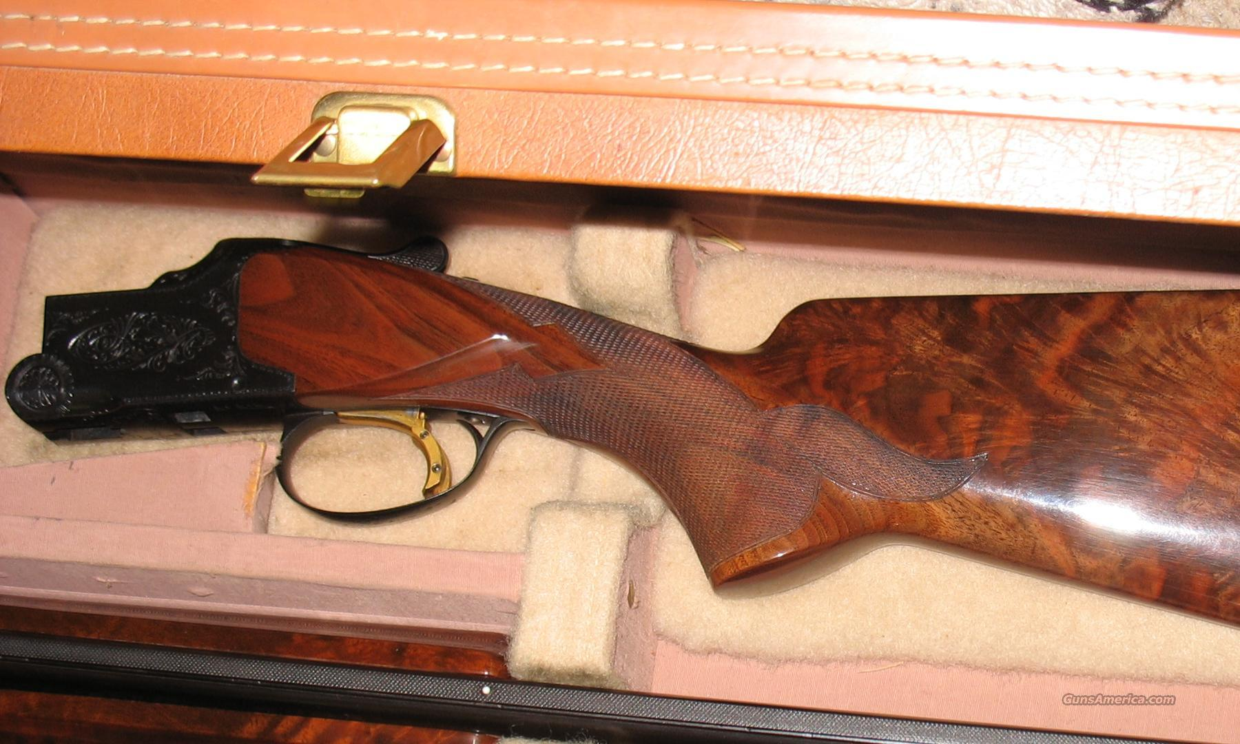 28 Ga. Superposed W/MIDAS WOOD  Guns > Shotguns > Browning Shotguns > Over Unders > Belgian Manufacture