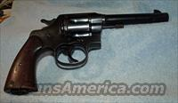 Colt 1917  Guns > Pistols > Colt Double Action Revolvers- Pre-1945