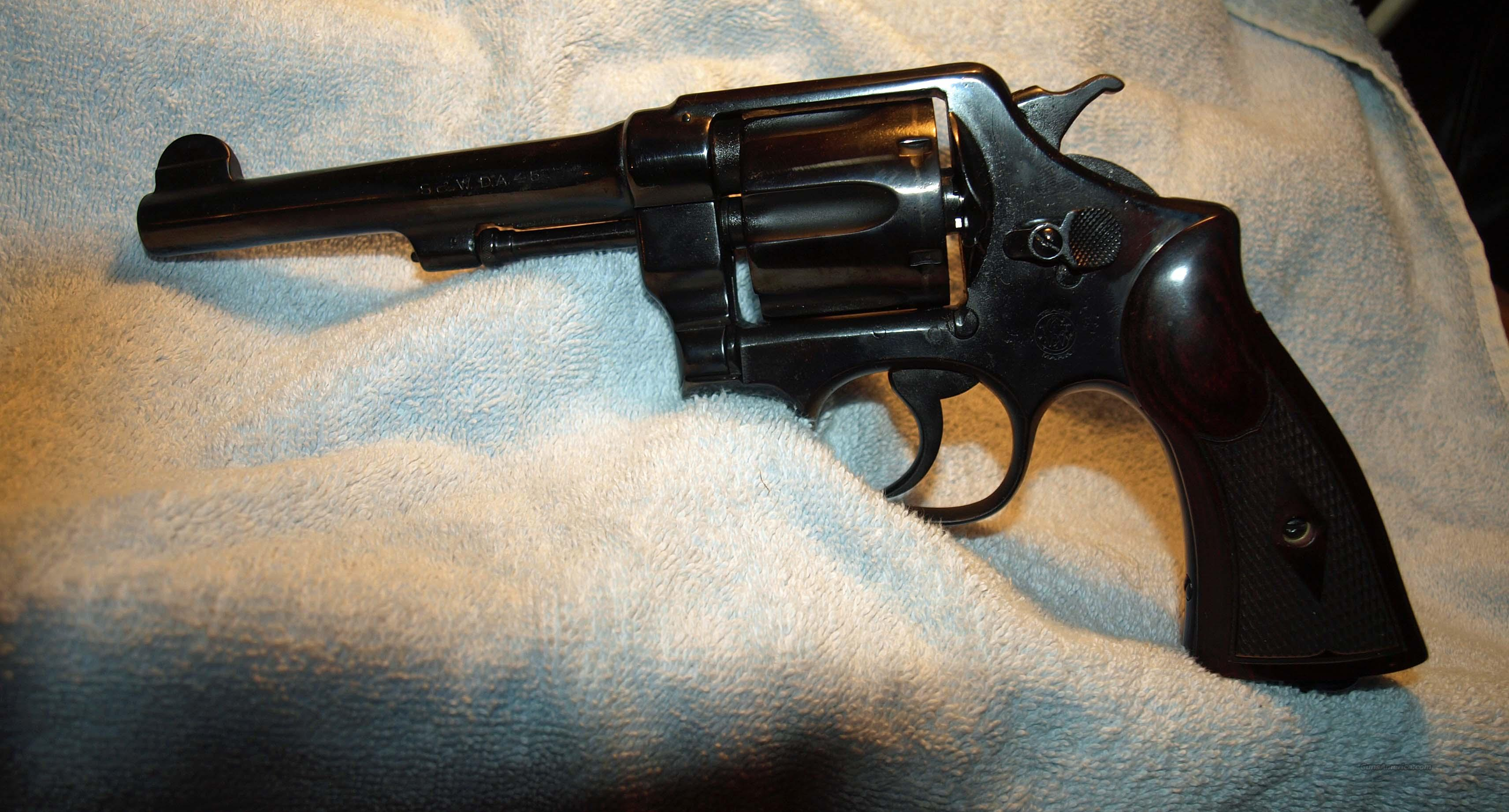 1950 Army  Guns > Pistols > Smith & Wesson Revolvers > Full Frame Revolver