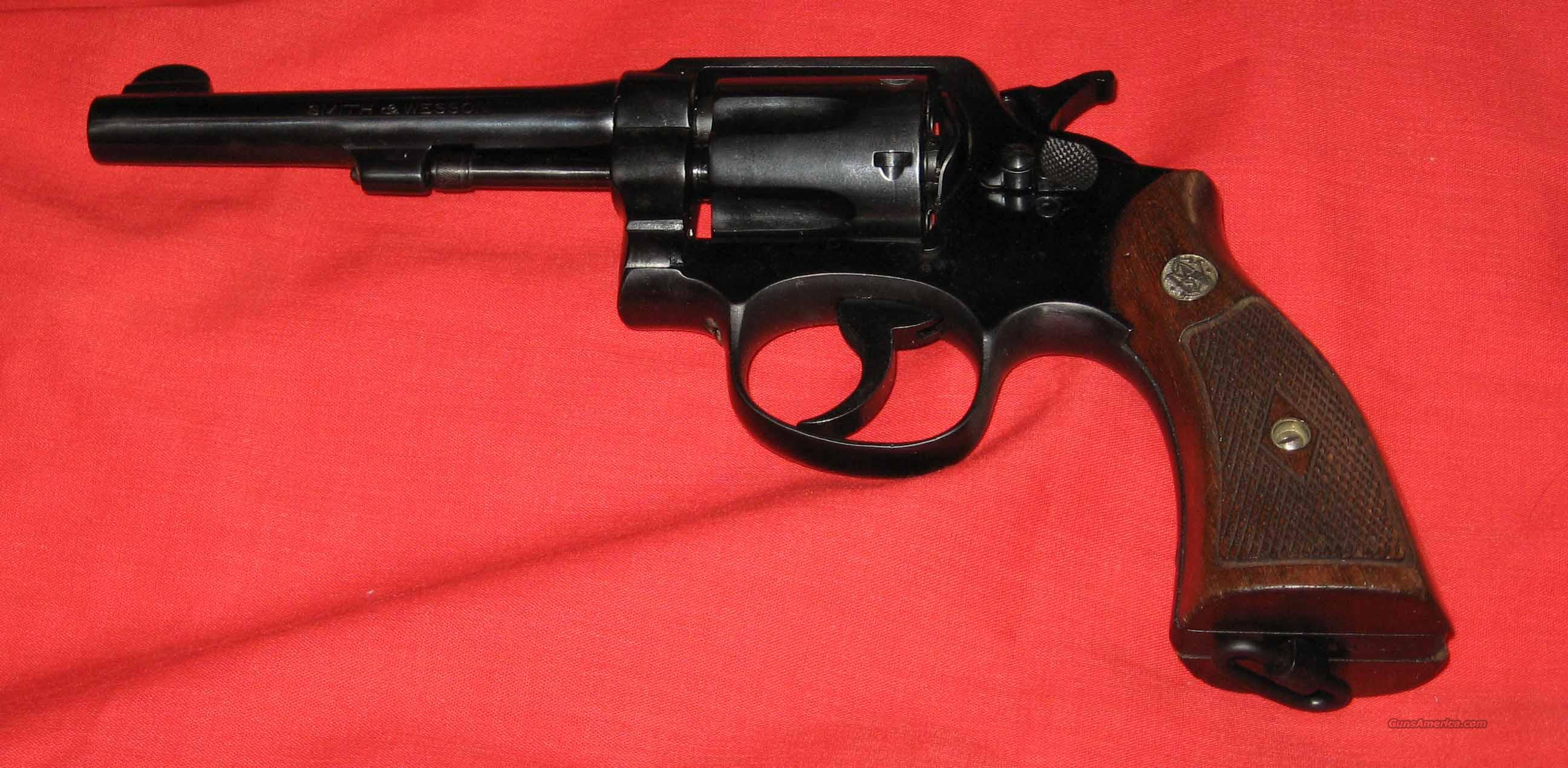 Pre WWII S&W M&P Lend Lease   Guns > Pistols > Smith & Wesson Revolvers