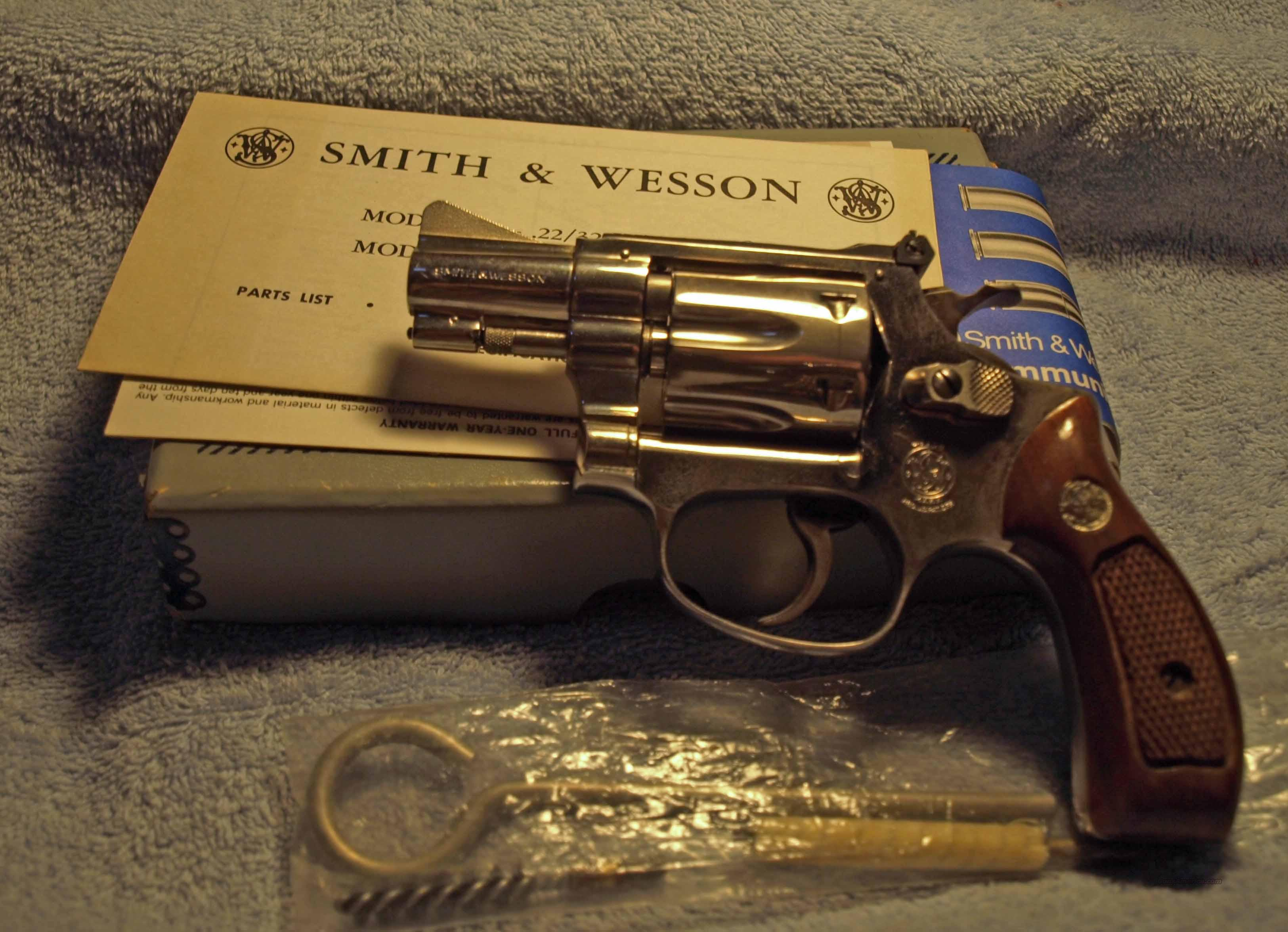 S&W Kit Gun Model 34-1  Guns > Pistols > Smith & Wesson Revolvers > Pocket Pistols
