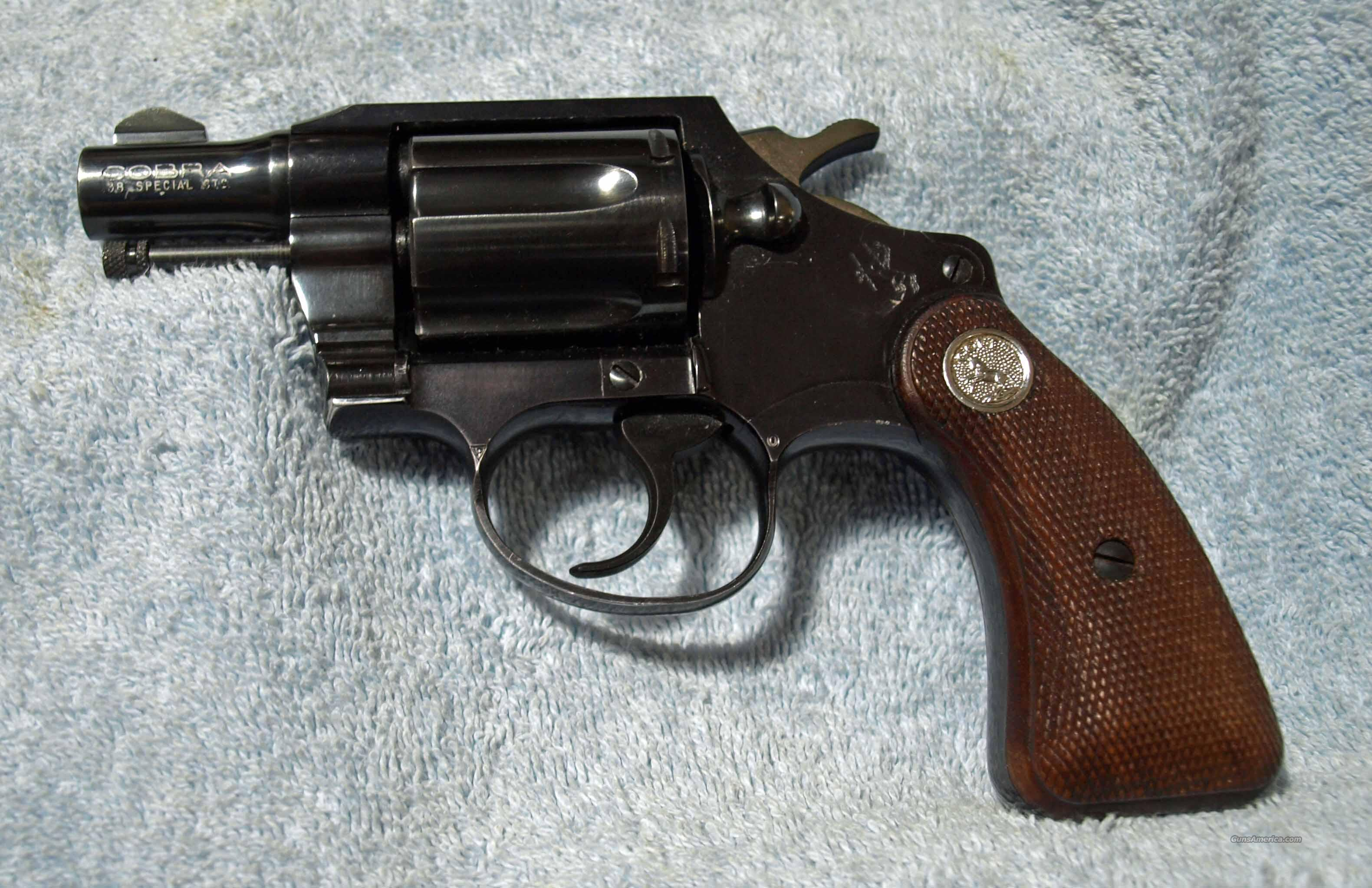 Early Colt Cobra  Guns > Pistols > Colt Double Action Revolvers- Modern
