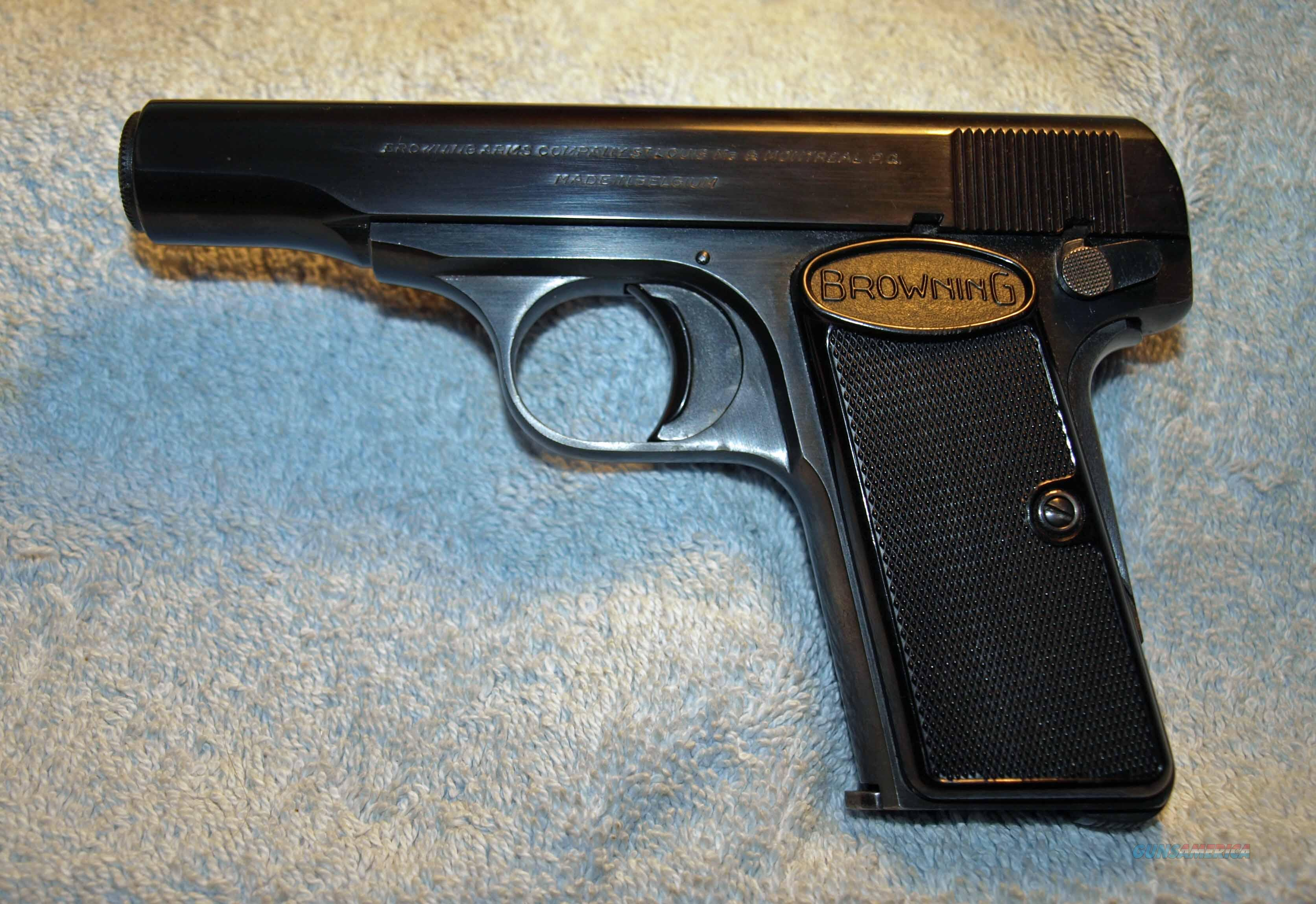 1955 Browing w/2 Magazines  Guns > Pistols > Browning Pistols > Other Autos