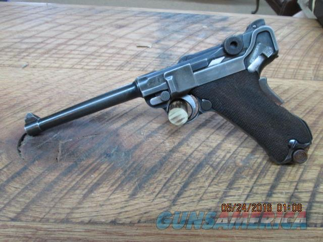 LUGER 1906 NAVY DWN=M 9MM LUGER CAL.MATCHING NUMBERS,PALM SAFETY.  Guns > Pistols > Luger Pistols