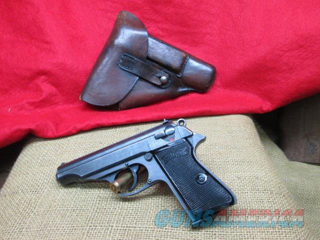 WALTHER PP CIRCA 1944 32 ACP ALL MATCHING WWII NAZI    Guns > Pistols > Walther Pistols > Pre-1945 > PP