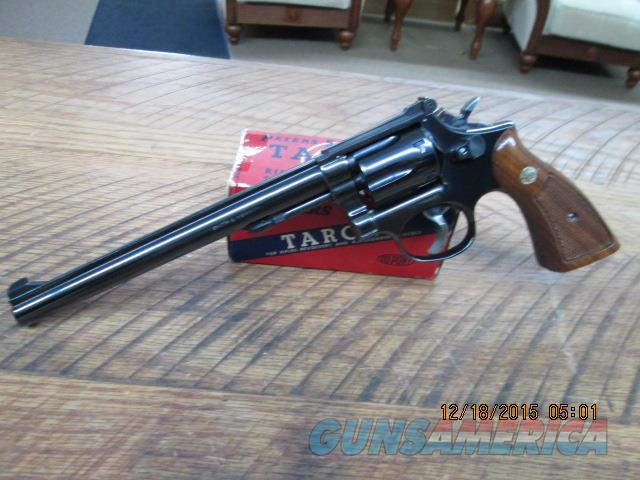 SMITH & WESSON MODEL 17-3 (MFG.1973) 22 L.R. 6 SHOT REVOLVER,PINNED & RECESSED.ALL 99% ORIG.CONDITION.NO BOX  Guns > Pistols > Smith & Wesson Revolvers > Full Frame Revolver