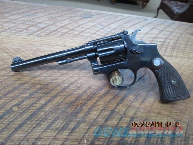 SMITH & WESSON 1ST MODEL K-22 OUTDOORSMAN 5 SCREW   Guns > Pistols > Smith & Wesson Revolvers > Small Frame ( J )