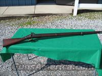 U.S. SPRINGFIELD 1827 MODEL MUSKET CONVERSION 69 CAL.  Guns > Rifles > Antique (Pre-1899) Rifles - Perc. Misc.