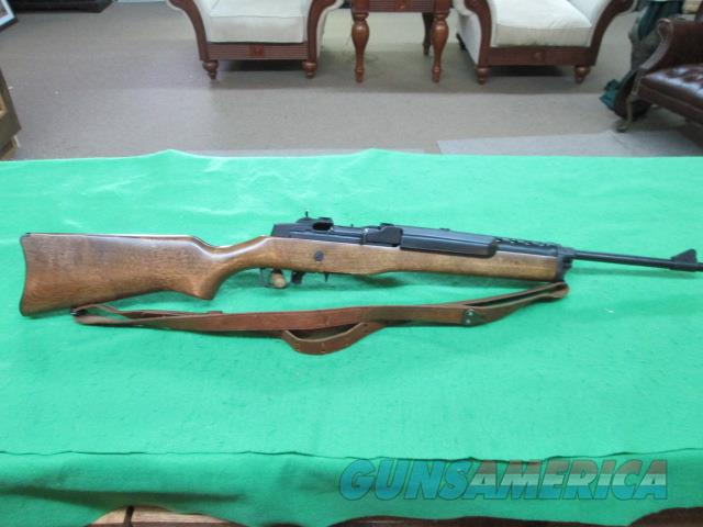 RUGER MINI 14 .223 SEMI AUTO RIFLE WITH EXTRA MAGS AND SLING   Guns > Rifles > Ruger Rifles > Mini-14 Type