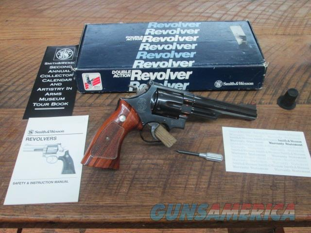 "SMITH & WESSON MODEL 29-3 6"" EARLY MODEL BRIGHT BLUE   Guns > Pistols > Smith & Wesson Revolvers > Full Frame Revolver"