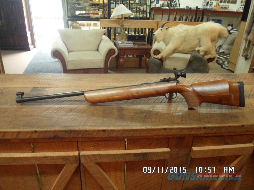 WALTHER MODEL KKW INTERNATIONAL MATCH TARGET RIFLE 22 L.R. SINGLE SHOT.99% PLUS ORIG.CONDITION.  Guns > Rifles > Benchrest/Varmint Rifles Misc.