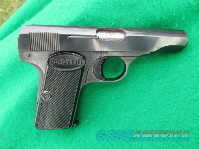 BROWNING MODEL 1955 SEI AUTO 380 ACP  Guns > Pistols > Browning Pistols > Other Autos